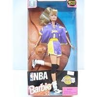 NBA (バスケットボール) Los Angeles Lakers Barbie(バービー) ドール 人形 フィギュア(並行輸入)
