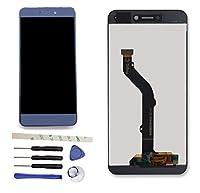 修理および交換LCD液晶ディスプレイおよびタッチパネルデジタイザアセンブリ+修理ツール 华为 Huawei P8 Lite 2017 PRA-LX1 PRA-LX3/Honor 8 Lite (青)