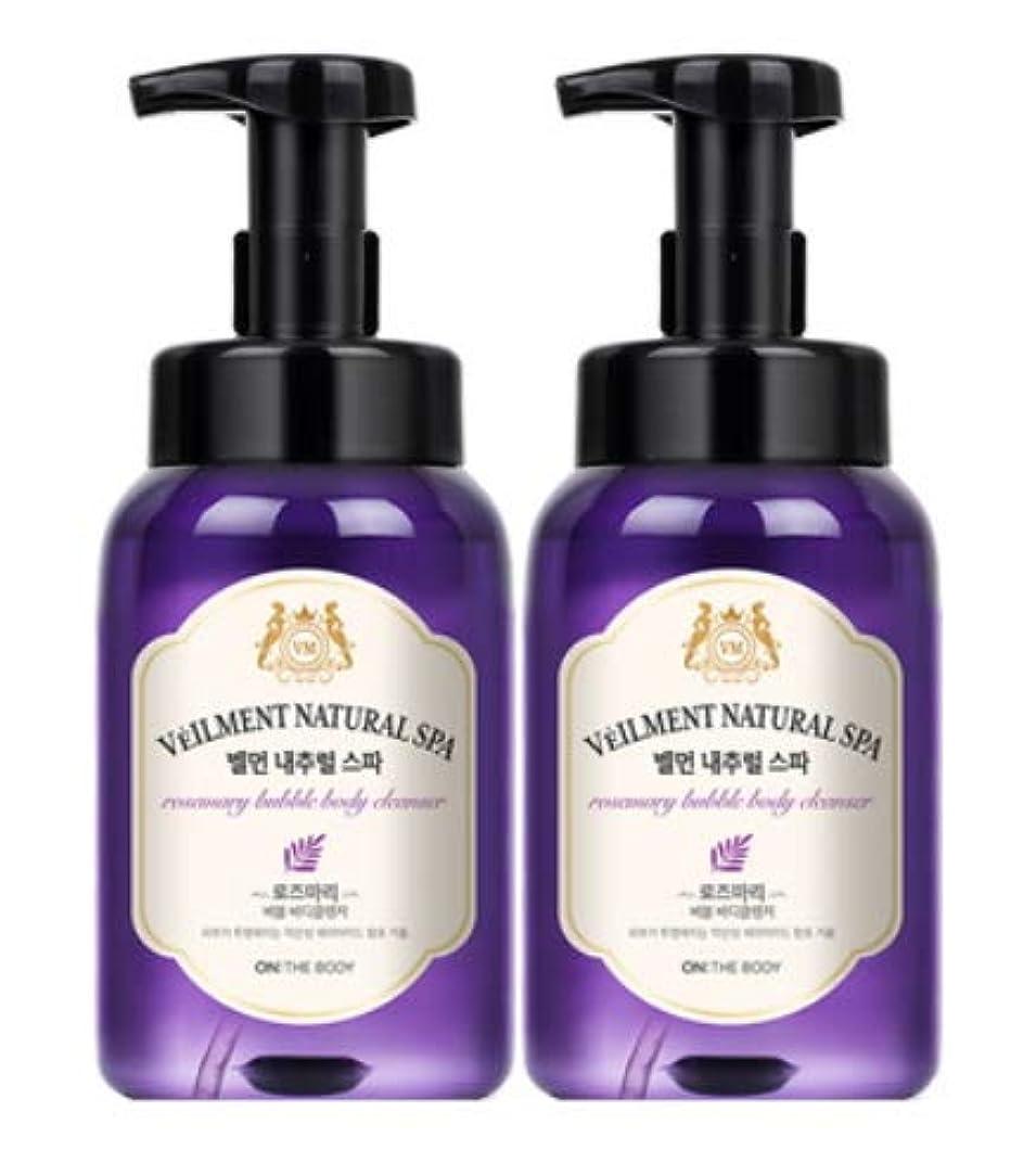 疫病粘り強いタブレット[LG HnB] On the Body Belman Natural Spa Bubble Body Cleanser/オンザボディベルモンナチュラルスパバブルボディクレンザー 500ml x2個(海外直送品)