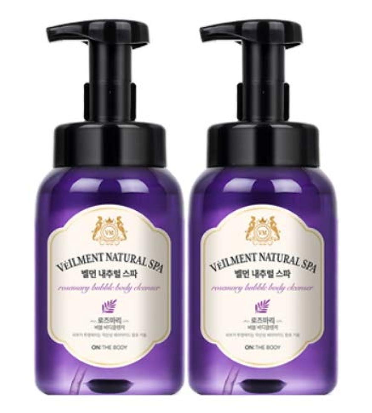 ピッチ居住者漏斗[LG HnB] On the Body Belman Natural Spa Bubble Body Cleanser/オンザボディベルモンナチュラルスパバブルボディクレンザー 500ml x2個(海外直送品)