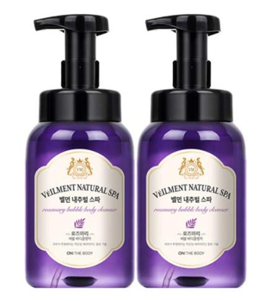 ソーセージ同盟神[LG HnB] On the Body Belman Natural Spa Bubble Body Cleanser/オンザボディベルモンナチュラルスパバブルボディクレンザー 500ml x2個(海外直送品)