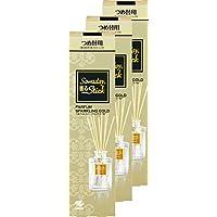 【まとめ買い】サワデー香るスティック 消臭芳香剤 パルファムスパークリングゴールド 詰め替え用 70ml ×3個