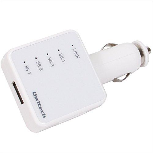 オウルテック Bluetooth対応FMトランスミッター i...
