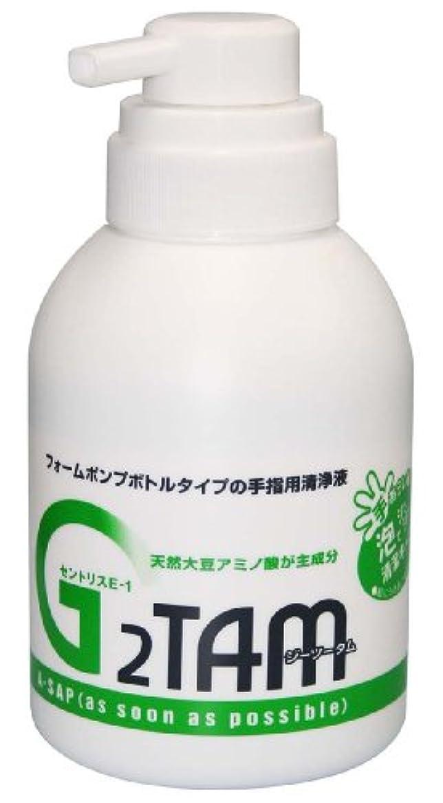 むちゃくちゃ故意に拒否G2TAM手指用清浄液ポンプ 500ml