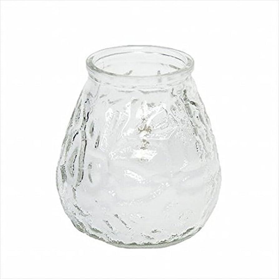 マオリうめきカップカメヤマキャンドル(kameyama candle) ネオベネチアン(ライトカラー) 「 クリア 」