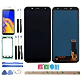 HYYT Replacement for Samsung Galaxy J6 2018 Galaxy On6 J600 J600L J600N J600G/DS J600F DS 5.6 LCD Display and Touch Screen Digitizer Glass Replacement Full Assembly
