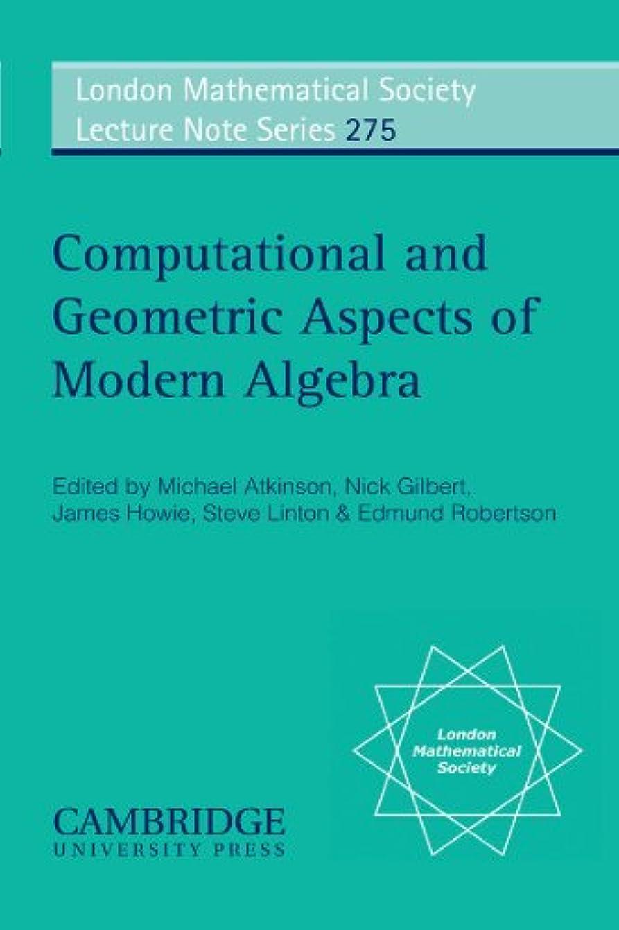 ルーキー気質お茶Computational and Geometric Aspects of Modern Algebra (London Mathematical Society Lecture Note Series)