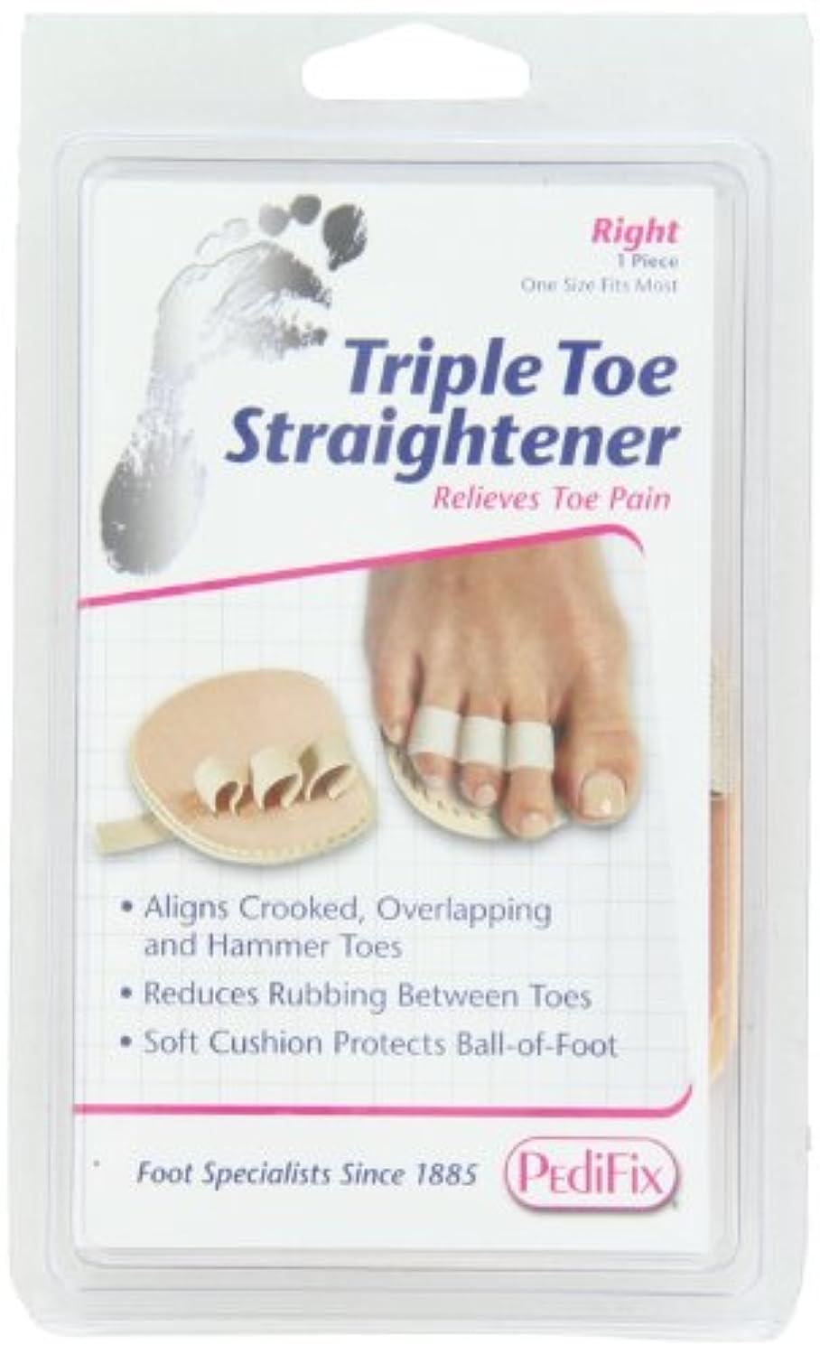 正確にスカート爬虫類足指補整パッド 第2?3?4指、右足用(P58-R)