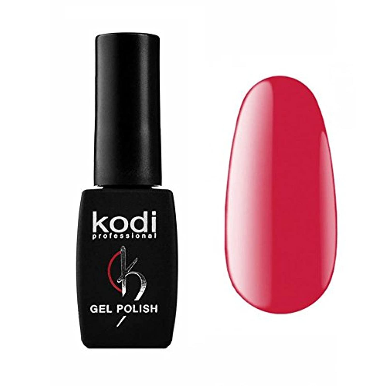 扇動電気引き潮Kodi Professional New Collection P Pink #120 Color Gel Nail Polish 12ml 0.42 Fl Oz LED UV Genuine Soak Off