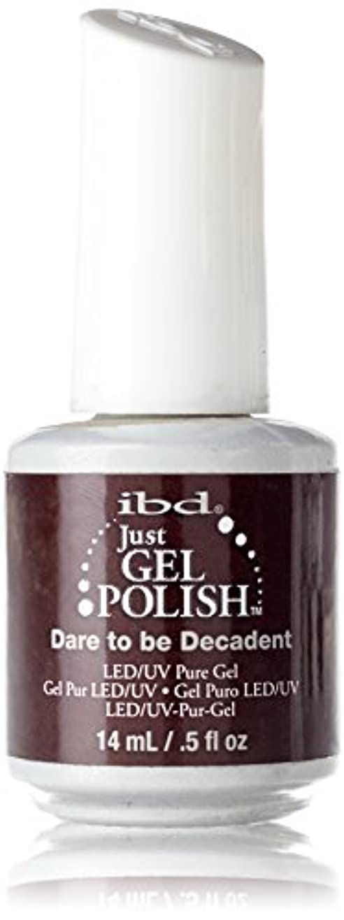 削減検査ピルIBD Just Gel Polish - Dare to be Decadent - 0.5oz / 14ml