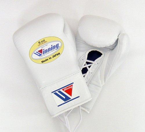 Winning 위닝 위닝 Professional복싱 글로브8온스- (Color:화이트)