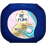 Seika ar FUM Laundry Capsules - Pink Love (12g x 42+8pcs), 50 count