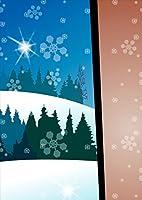 ポスター ウォールステッカー シール式ステッカー 飾り 182×257㎜ B5 写真 フォト 壁 インテリア おしゃれ 剥がせる wall sticker poster pb5wsxxxxx-001473-ds その他 雪 冬