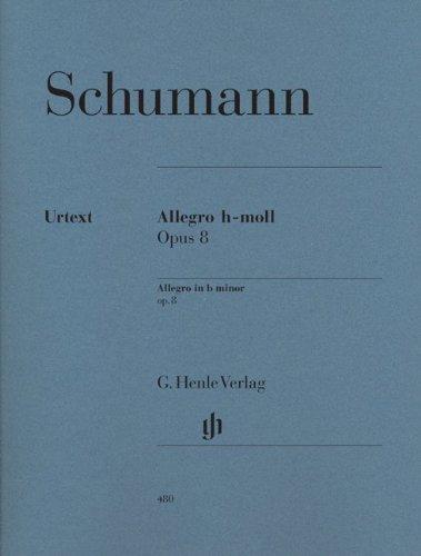シューマン: アレグロ ロ短調 Op.8/ヘンレ社/原典版/ピアノ・ソロ