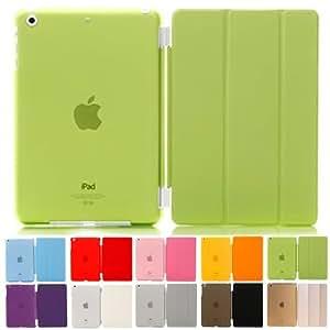 MS factory iPad mini2 mini3 スマート カバー バック ケース ライム IPDM3-SSET-LM