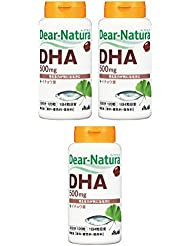 【まとめ買い】ディアナチュラ DHA With イチョウ葉 120粒×3個