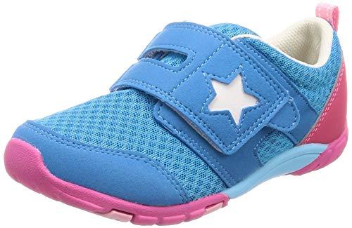 f66503cbb97cb  ムーンスター  運動靴 通学履き マジック 14-21cm(0.5cm有) 2E キッズ MS C2166 ターコイズ 14.0 cm 子ども の足の正しい成長をサポートする機能を搭載した「ムーン ...