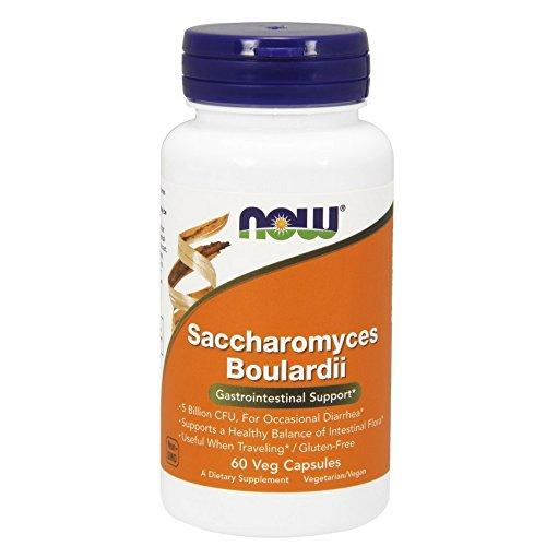 海外直送品Now Foods Saccharomyces Boulardii Gastrointes...