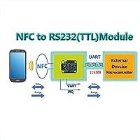 nfc2comモジュール、UART NFCモジュールp2p with電話、NFCカードエミュレーションアクセス制御、支払関数、低消費電力