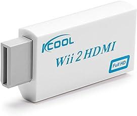 KCOOL wii hdmi HDMI コンバーター HDMI変換アダプタ WiiをHDMI接続に変換