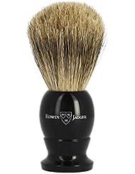 エドウィンジャガー ベストバッジャーアナグマ毛 エボニーシェービングブラシミディアム1EJ876[海外直送品]Edwin Jagger Best Badger Ebony Shaving Brush Medium 1EJ876...