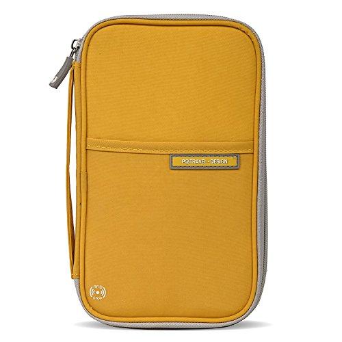 クロース(Kroeus)多機能パスポートケース スキミング防止...