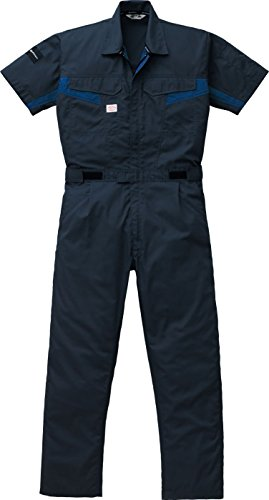 phiten (ファイテン)×AUTO-BI (オートバイ) 半袖つなぎ コラボ すだれ織り ab-1511 チャコール...