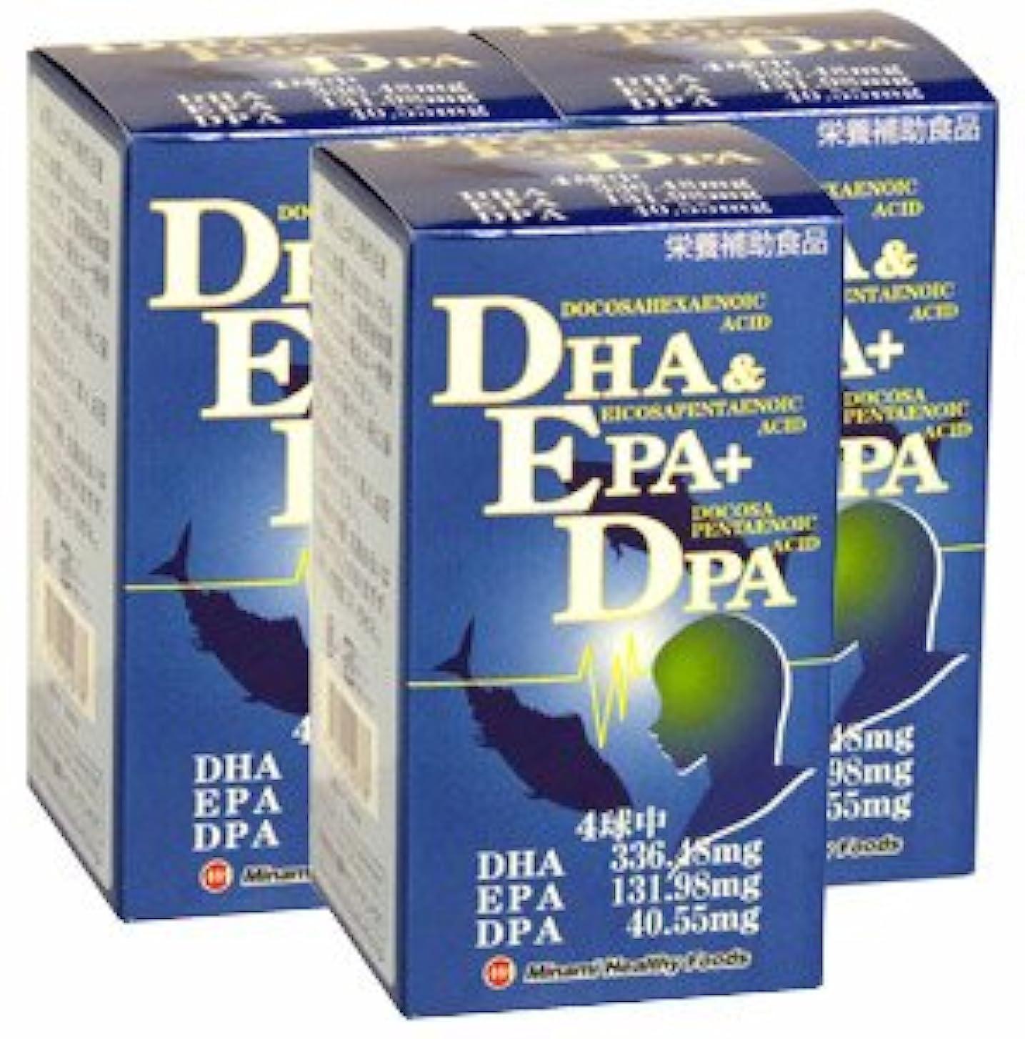 消化小川一生DHA&EPA+DPA【3本セット】ミナミヘルシーフーズ
