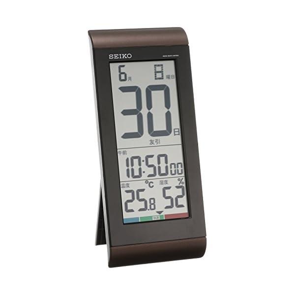 セイコー クロック 掛け時計 置き時計 兼用 日...の商品画像