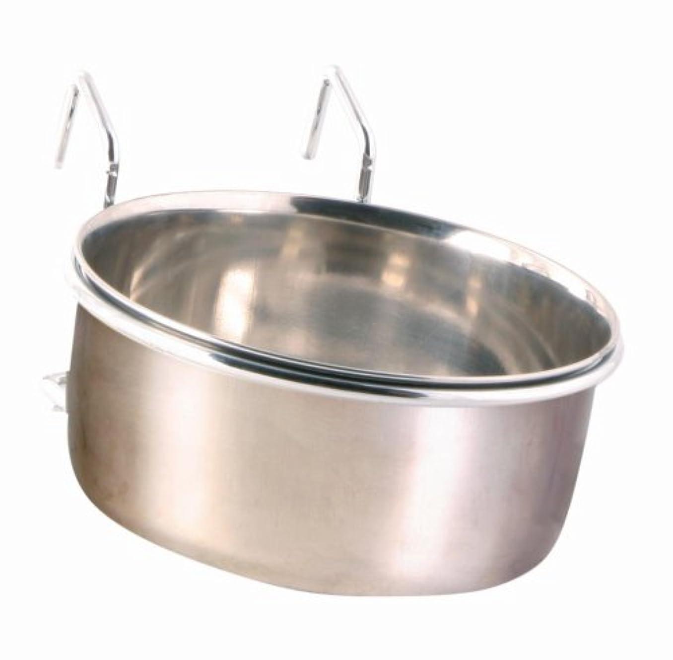 不透明なプレートコンセンサスClip On Bowl Medium. Used For Bird Cages, But Also Can Be Used For Dogs. Holds 600 Ml/テδ 12 Cm by Trixie