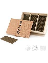 日本香堂のお香 伽羅大観 スティックミニ寸お徳用 120本入り