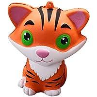 Squishies ジャンボ 低反発 子供用 Lovely Collection Toys かわいいタイガーの香り付きストレス解消おもちゃ