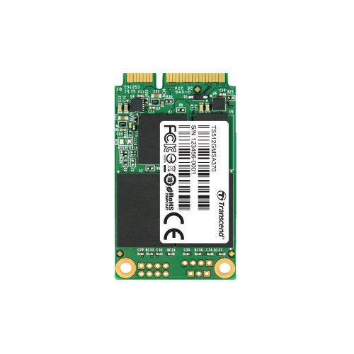 Transcend SSD 512GB mSATA3 6Gb/s 3年保証 TS512GMSA370