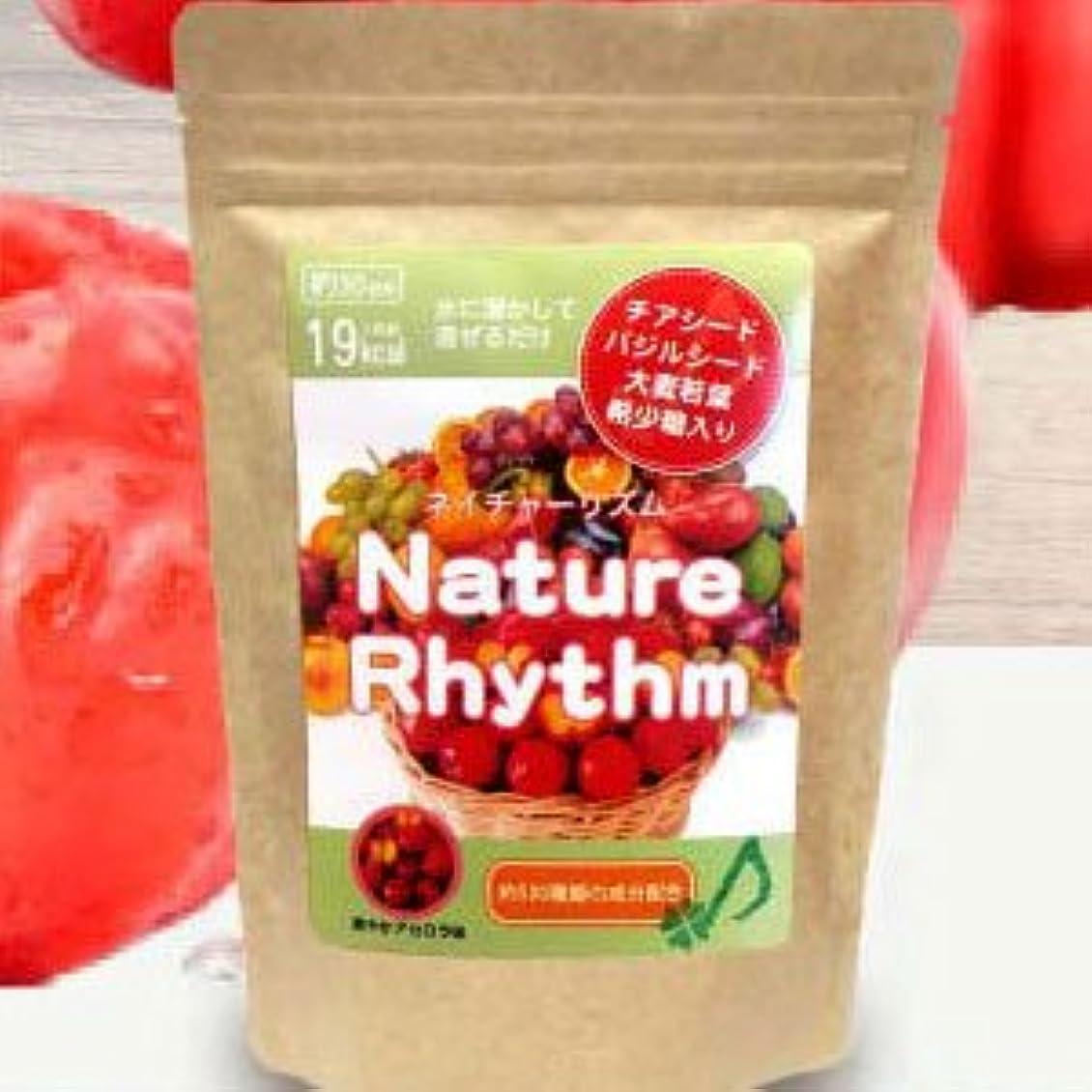 汚染された支配する周辺Nature Rhythm スーパーフードMIX酵素スムージー グリーンスムージー ダイエット (爽やかアセロラ, 200g)