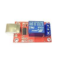USBリレーモジュール コンピューター 制御リレーモジュール DC5V 1チャンネル