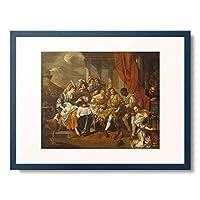 Toorenvliet, Jacob,1635-1719 「A Banquet On A Terrace.」 額装アート作品