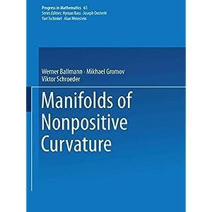 Manifolds of Nonpositive Curvature (Progress in Mathematics)