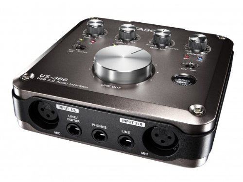 TASCAM USBオーディオインターフェース US-366-CU