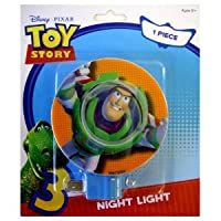 Disney Pixar Toy Story 3 Buzz Lightyear Kids Room Nursery Night Light [並行輸入品]