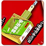 井村屋あずきバー&たい焼アイス にょっきりストラップ 【6.BOX宇治金時バー】(単品)