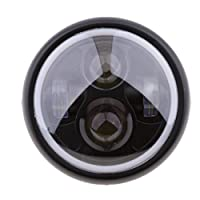 IPOTCH 復古 オートバイ 6.5インチ 品質保証 LED テールライト 尾灯 ブレーキライト レイダウン Cafe Racer Cruiser適用  耐久性