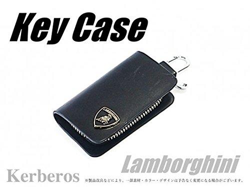 Lamborghini ロゴ入り レザー キーケース 【AK-KEY-034】