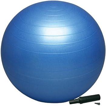 HATAS(ハタス) バランスボール セーフティ 55cm ポンプ付 DB55P