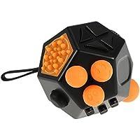 Yiteng 指輪型  不安 ストレス解消  キューブ リング  手持ちポケットゲーム 情緒調節  集中力を高める道具  携帯やすい 多機能減圧おもちゃ  プレゼント