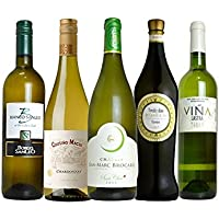 白 ワイン セット ソムリエが選ぶ 世界の白ワイン 超極上 辛口 白ワイン 飲み比べ 5本セット