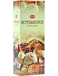 HEM(ヘム)社 バタースコッチ香 スティック BUTTERSCOTCH 6箱セット