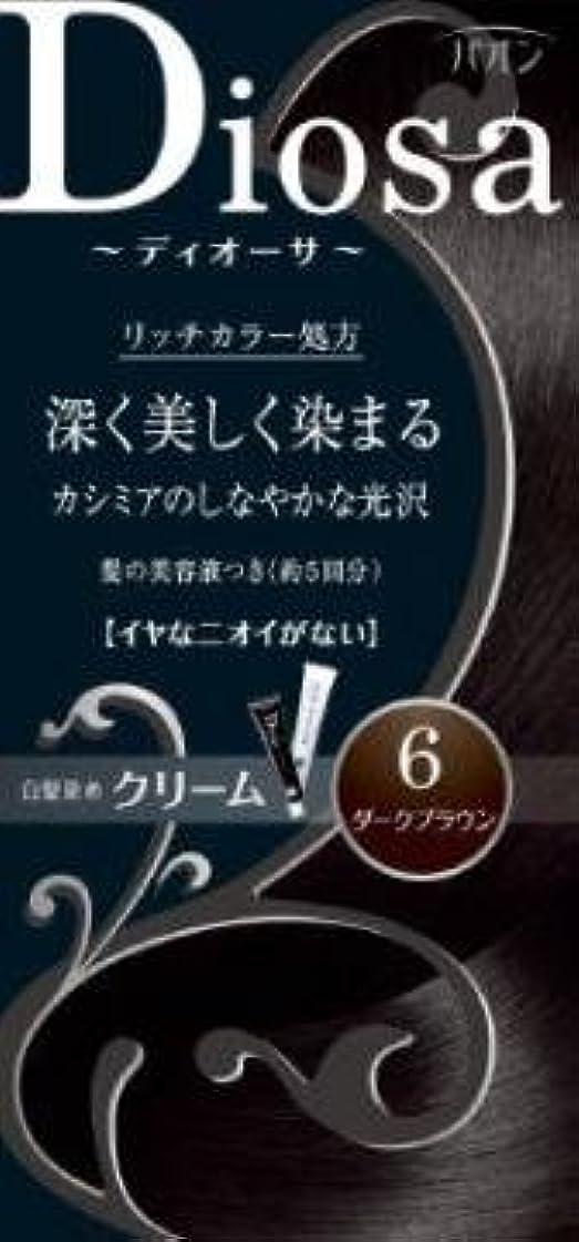明日休暇エミュレーション【シュワルツコフヘンケル】パオン ディオーサ クリーム 6 ダークブラウン ×5個セット