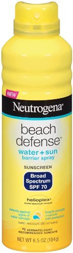 ペチュランスアドバイス心理的にNeutrogena Beach Defense ニュートロジーナサンスクリーンスプレー SPF70 180g 並行輸入品