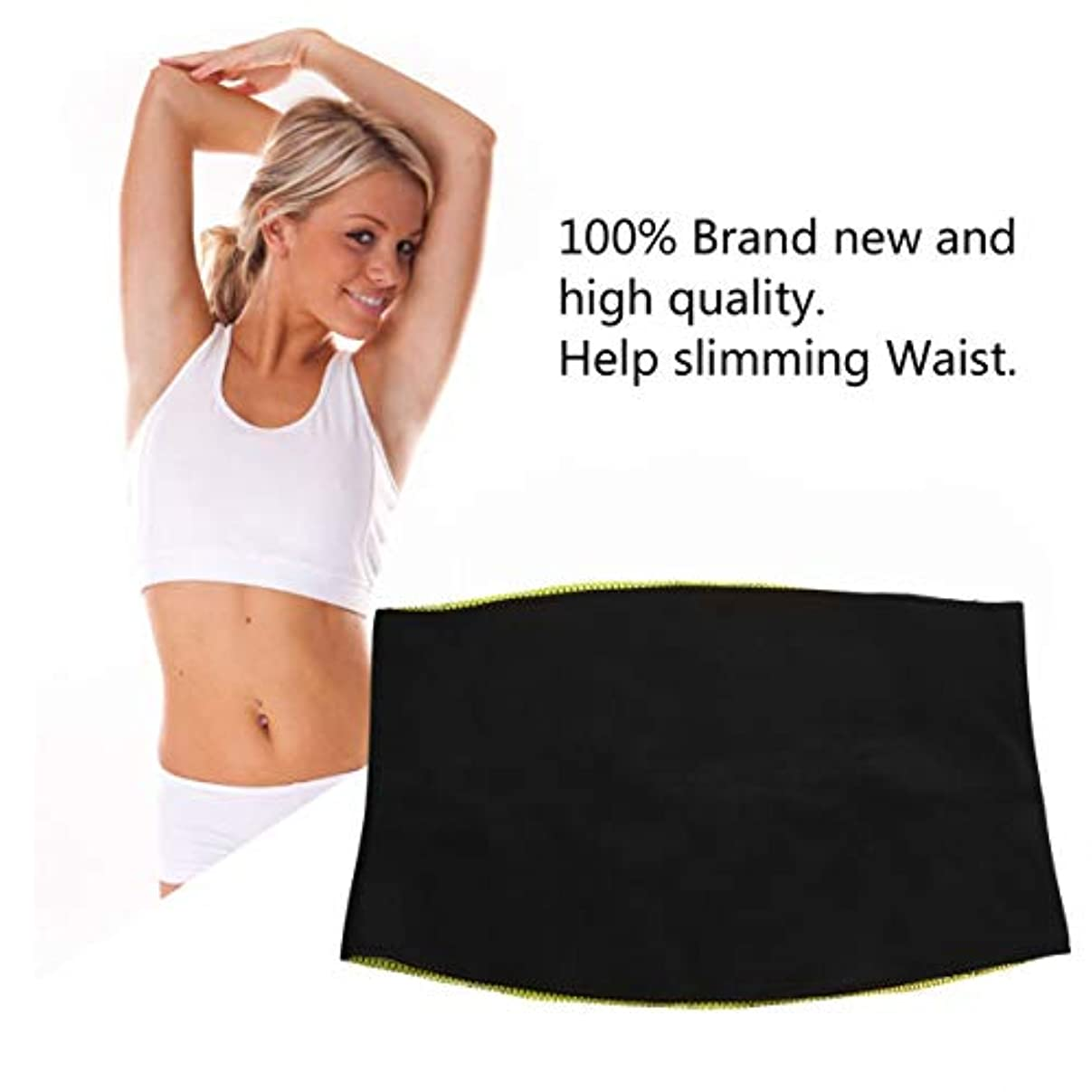 工夫する望まない悪のWomen Adult Solid Neoprene Healthy Slimming Weight Loss Waist Belts Body Shaper Slimming Trainer Trimmer Corsets