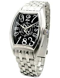 コグ 腕時計 ジャンピングアワー 自動巻き メンズ JH4M-BK